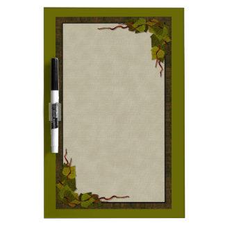 Green Ivy Dry-Erase Board