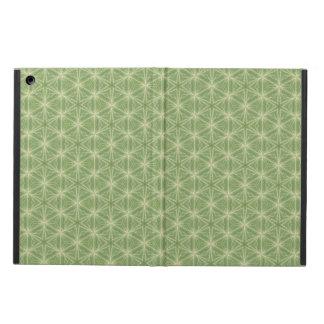 Green Ivy Leaf Geometric Design Case