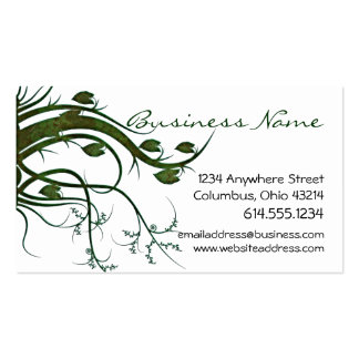 Green Ivy Nature Business Cards