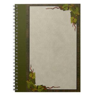 Green Ivy Notebook