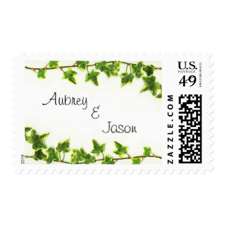 Green Ivy - Postage Stamp
