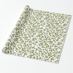 """Green Ivy Vine Wrapping Paper<br><div class=""""desc"""">Green ivy vine wrapping paper.</div>"""
