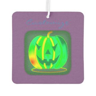 Green Jack o'lantern Halloween Thunder_Cove Car Air Freshener