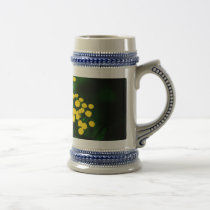 Green Jacket With Golden Buttons Beer Stein