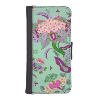 Green Jacobian IPhone Wallet Case