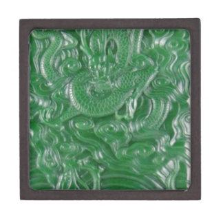 green jade chinese dragon sculpture jewelry box