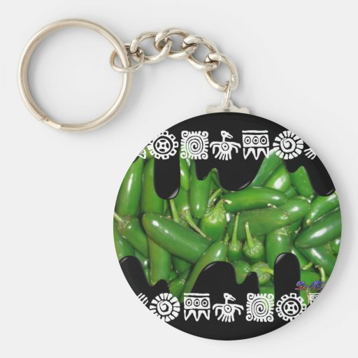 GREEN JALAPENOS PRODUCTS KEYCHAINS