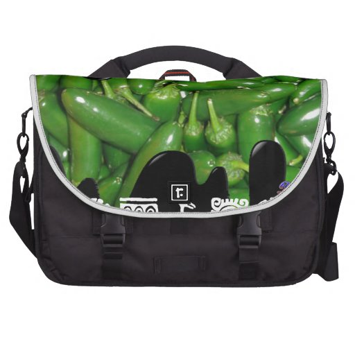 GREEN JALAPENOS PRODUCTS COMMUTER BAG