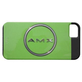 GREEN JAVELIN AMX LOGO AMERICAN MOTORS COMPANY iPhone 5 CARCASAS