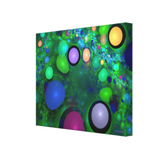 """""""Green Jelly Beans"""" Custom Art by Christopher Pete Canvas Print"""