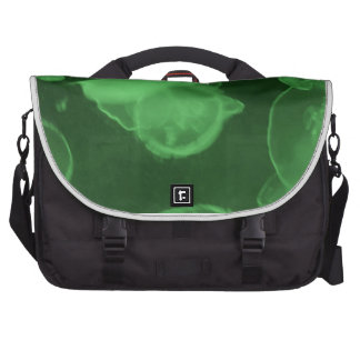 green jelly fish commuter bags