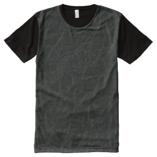 Green Jerba Stone Pattern Background All-Over-Print T-Shirt