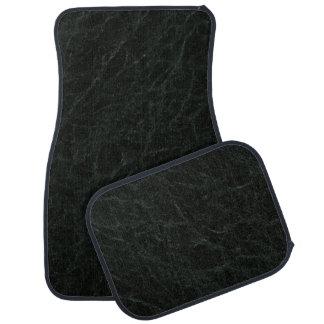 Green Jerba Stone Pattern Background Car Floor Mat