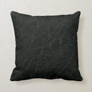 Green Jerba Stone Pattern Background Throw Pillow