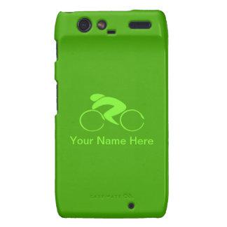 Green Jersey Cover Motorola Droid RAZR Cases