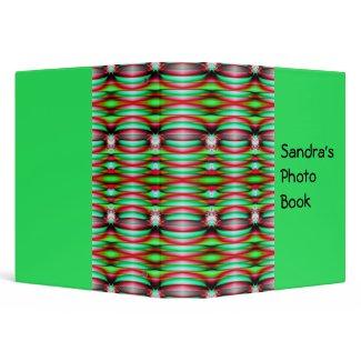 green jewel binder