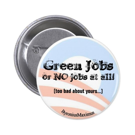 Green Jobs NOW! Button