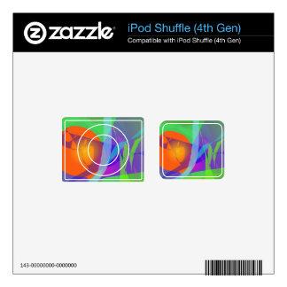 Green Joy iPod Shuffle 4G Decal