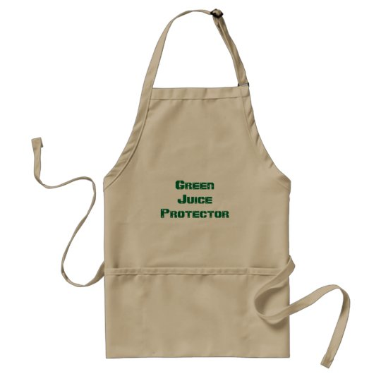 """Green Juice Protector""  - Standard Apron"