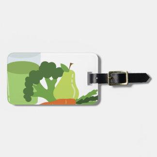 Green Juice Veggies Bag Tag