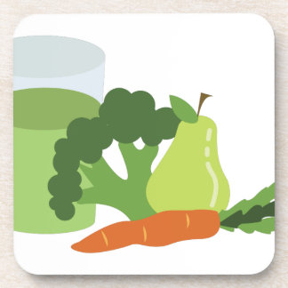 Green Juice Veggies Coaster