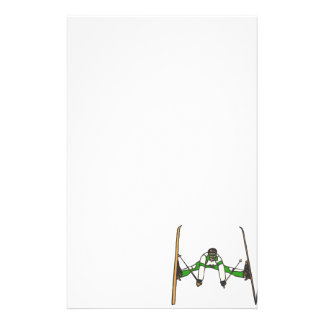 Green Jumper Customized Stationery