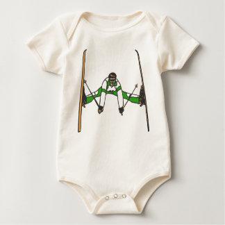 Green Jumper Baby Creeper