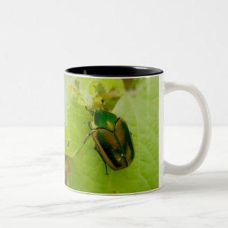 Green June Beetle Mug