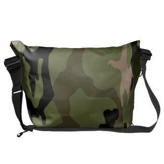 Green Jungle Camo Messenger Bags
