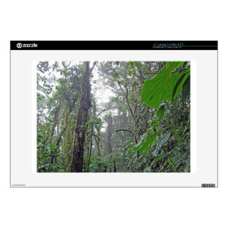 """green jungle in costa rica decal for 15"""" laptop"""