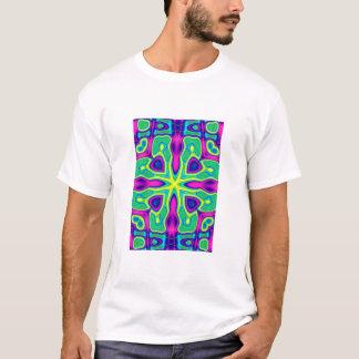 green kaleidescope T-Shirt