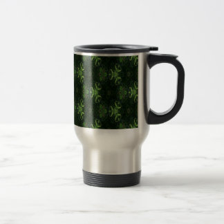 Green Kaleidoscope 1 Mug