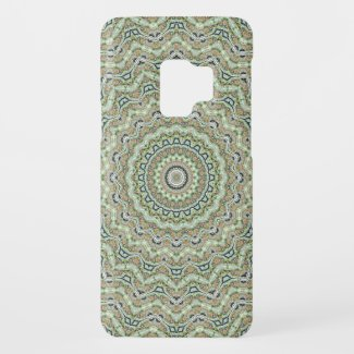 Green Kaleidoscope Case-Mate Samsung Galaxy S9 Case