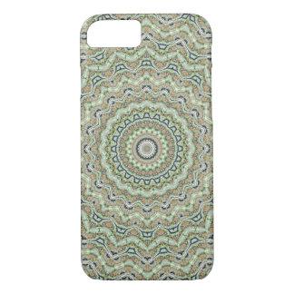 Green Kaleidoscope iPhone 8/7 Case