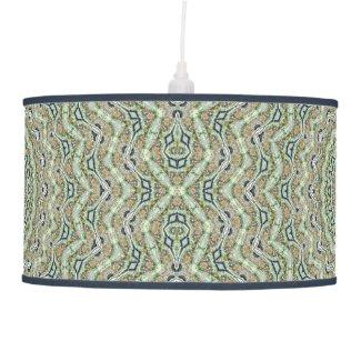 Green Kaleidoscope Pendant Lamp
