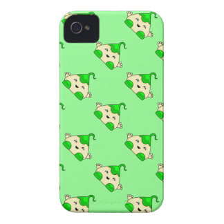 Green Kawaii Tickle Monster iPhone 4 Cover