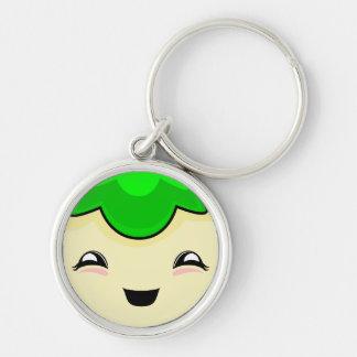 Green Kawaii Tickle Monster Key Chain
