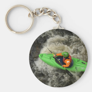 Green Kayak Paddling Keychains