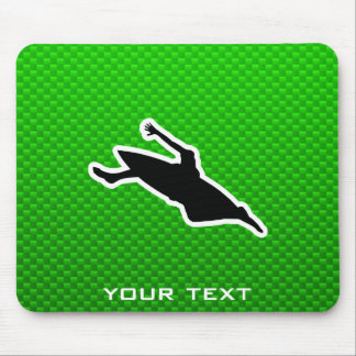 Green Kayaking Mousepads