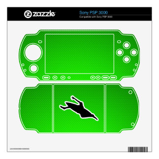 Green Kayaking Decal For Sony PSP 3000