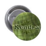 Green Kendra Buttons