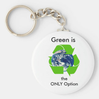 Green Key Chain