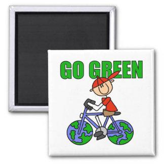 Green Kids Ecology Gift Refrigerator Magnets