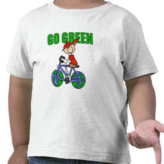 Green Kids Ecology Gift T Shirt