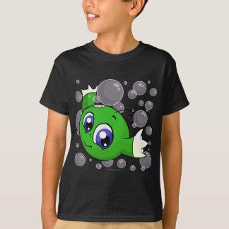 Green Kiko swishing through Kiko Lake T-Shirt