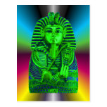 Green King Tut #2 Post Card