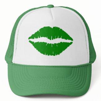 Green Kiss St. Patrick's Hat hat