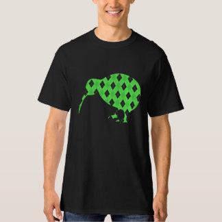 Green Kiwi Bird Argyl Pattern shirt