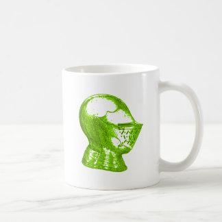 Green Knight Medieval Creative Anachronisms Coffee Mugs
