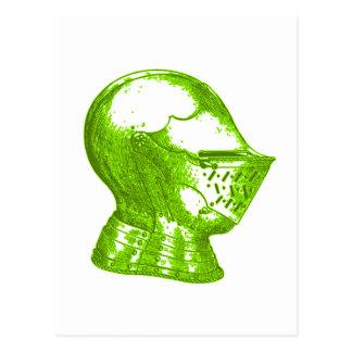 Green Knight Medieval Creative Anachronisms Postcard